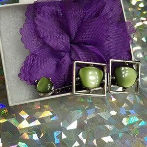 Vintage Sarah Coventry Moon Glow cufflinks set